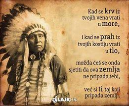 indijanska mudrost