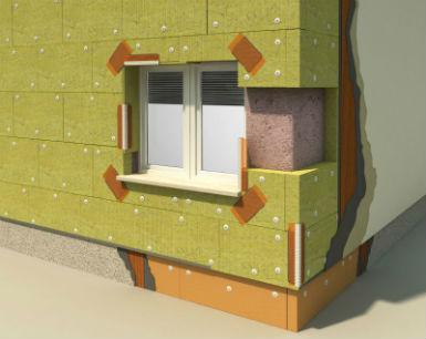 fasada, toplinska izolacija, kamena vuna